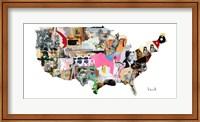 US Map Fine Art Print