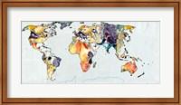 World Map Fine Art Print