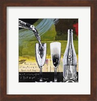 Champagne and Glasses Fine Art Print