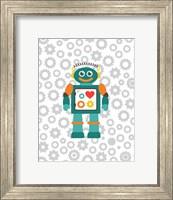 Robot V Fine Art Print
