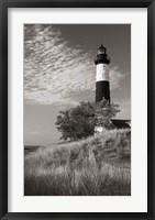 Big Sable Point Lighthouse II BW Fine Art Print