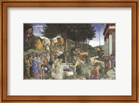 Scenes from the Life of Moses Fine Art Print