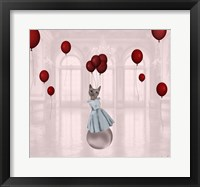 Ball with Balloons Fine Art Print