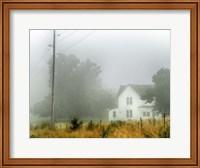 Fog House Fine Art Print