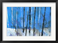 Birch and Black Ash Saplings Fine Art Print