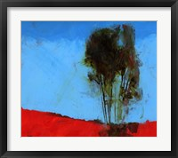 Cyan and Red Fine Art Print