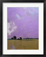 Over the Fields to the Distant Sea Fine Art Print