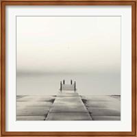 Pier and Seagull Fine Art Print