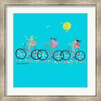 Tour de Girls Fine Art Print