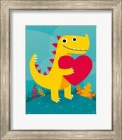 Dino Love Fine Art Print