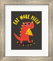 Eat More Pizza Fine Art Print
