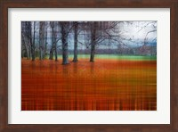 Abstract Autumn Fine Art Print