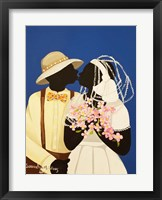 You May Kiss The Bride Fine Art Print