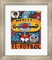 La Mascota del Mundial Fine Art Print
