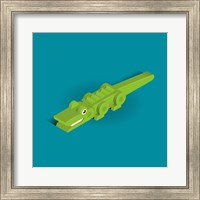 Crocodile Fine Art Print