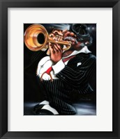 Jazzman Papa Joe Fine Art Print
