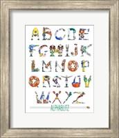 Alphablitz Fine Art Print