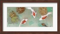 Floating Motion III Fine Art Print