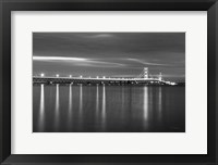 Mackinac Bridge BW Fine Art Print
