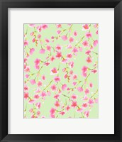 Cherry Blossom Green Fine Art Print