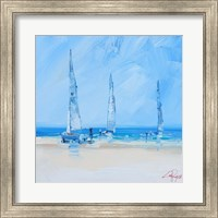 Aspendale Sails 2 Fine Art Print