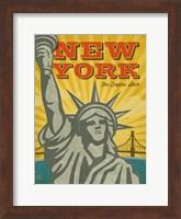 New York - The Empire State Fine Art Print