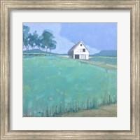 Barn in Midsummer Light Fine Art Print