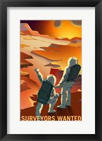 Surveyors Wanted Fine Art Print