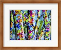 Birches with Bling Fine Art Print