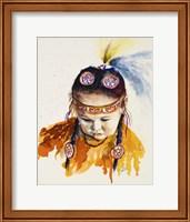 First Nations Powwow Princess Fine Art Print