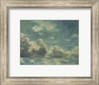 Study of Cumulus Clouds Fine Art Print