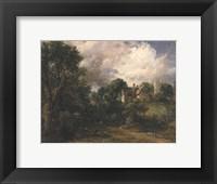The Glebe Farm, 1827 Fine Art Print