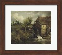 Parham's Mill, Gillingham, Dorset Fine Art Print