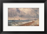 Hove Beach with Fishing Boats Fine Art Print