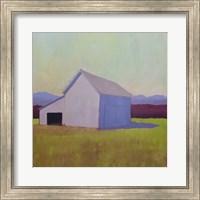 Primary Barns IV Fine Art Print