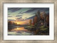 Lakeside Memories Fine Art Print