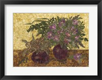 Still Life With Two Vases 1 Fine Art Print