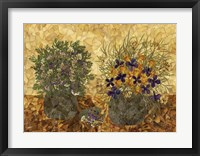 Still Life With Two Vases 2 Fine Art Print