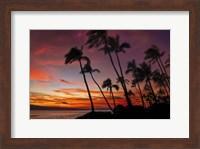 Maui Sunset Fine Art Print