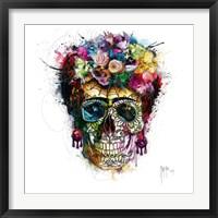 Frida Skull Fine Art Print