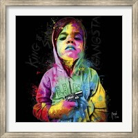 Gangsta Child, King of Street Fine Art Print