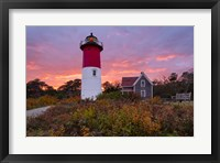 Autumn at Nauset Light Fine Art Print