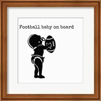 Football Baby 2 Fine Art Print