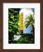 Yellow Hotel Fine Art Print