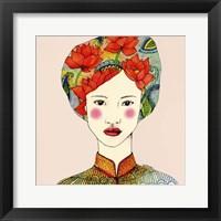 Lotus Girl Fine Art Print
