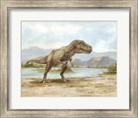 Dinosaur Illustration III Fine Art Print