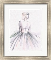 Watercolor Ballerina I Fine Art Print