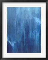 Azul Profundo Triptych II Fine Art Print