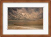 Stormy Seascape at Sunrise, Cape May National Seashore, NJ Fine Art Print