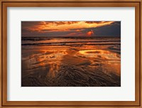 Sunset, Delaware Bay, Cape May NJ Fine Art Print